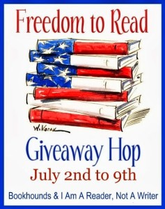 freedom to read giveaway hop july 2nd to 9th