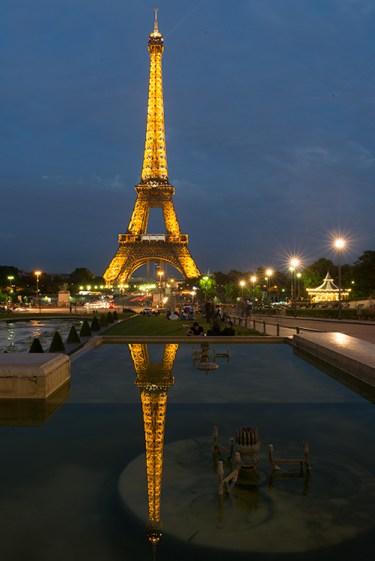 Eiffel Tower (Before), by Robin Kent, PhotographybyKent