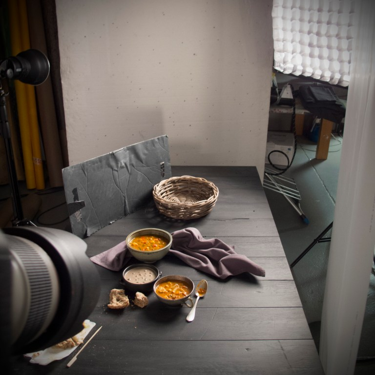 Food photography set up - Stacy Grant