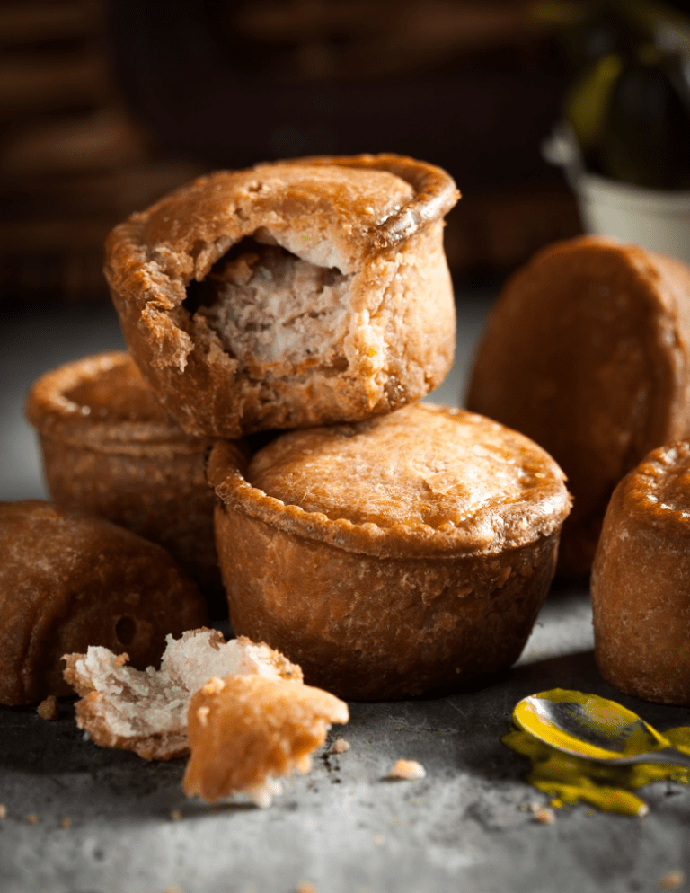 Pork Pies by Stacy Grant