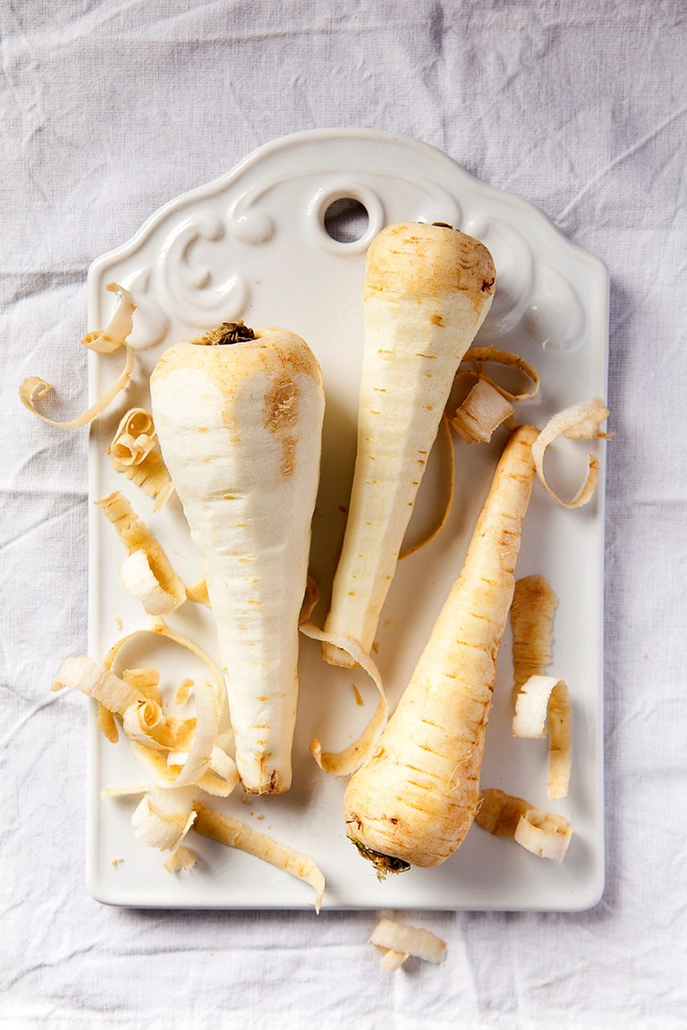Peeled Parsnips   Stacy Grant   Creative food photography