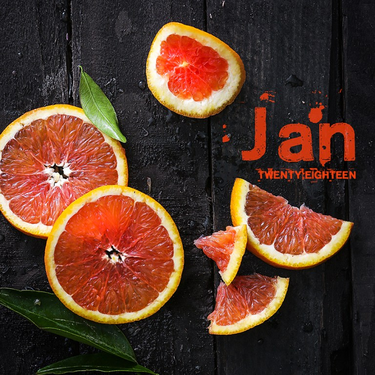 Blood Orange | Stacy Grant | Food Photographer | Fresh Start | New Year