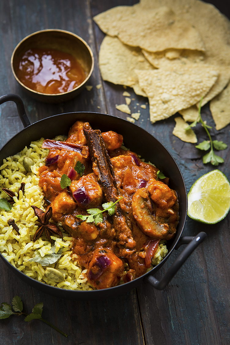 Quorn Curry | Stacy Grant | Food Photographer