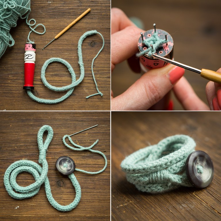 French knitting | 52 Weekends | Craft inspiration project | Stacy Grant