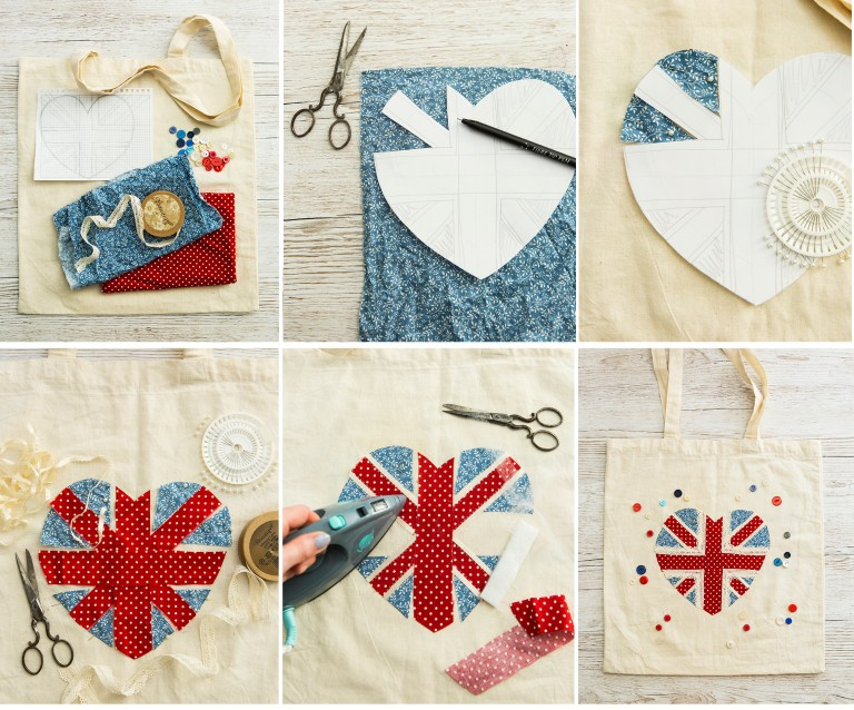 Royal tote | 52 Weekends | Stacy Grant | Creative Craft Photographer