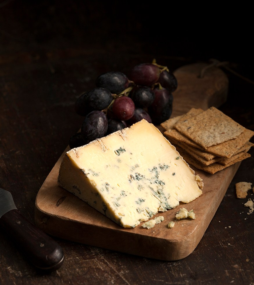 Blue Wensleydale | National Cheese Month | Cheese and Crackers by Stacy Grant Photography
