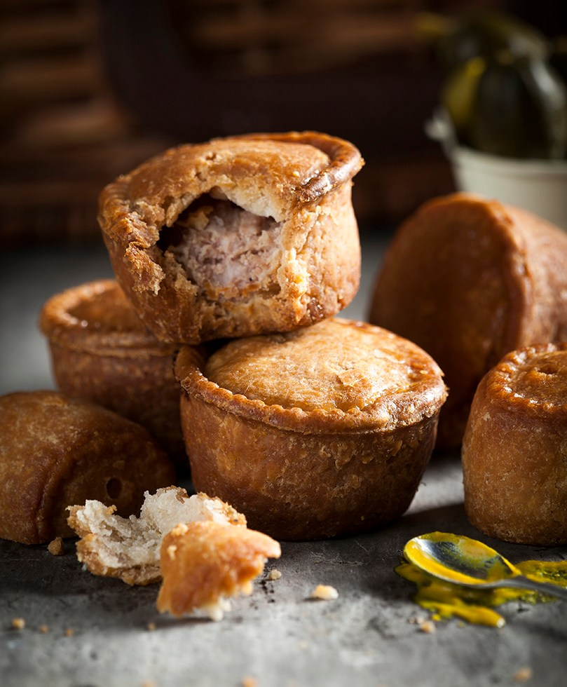 Pork Pies | Picnic | Stacy Grant Food Photographer