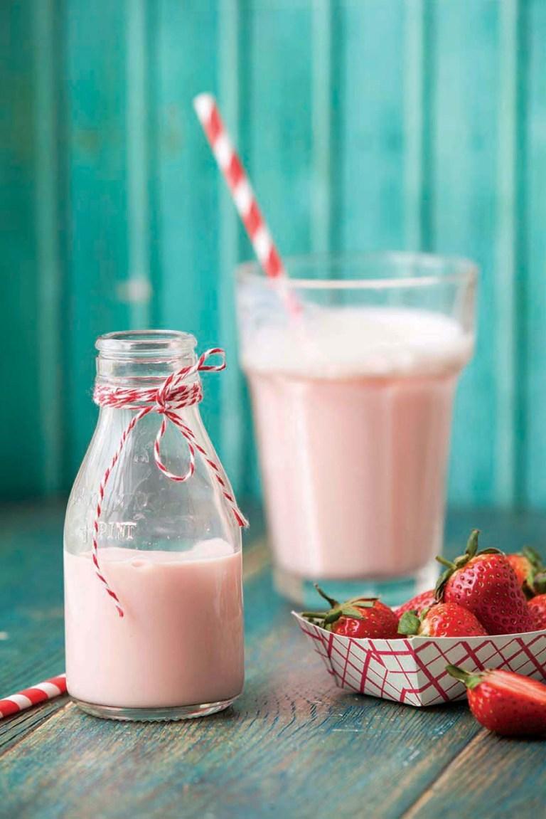 Strawberry Milkshake | Pink | Stacy Grant Food Photography