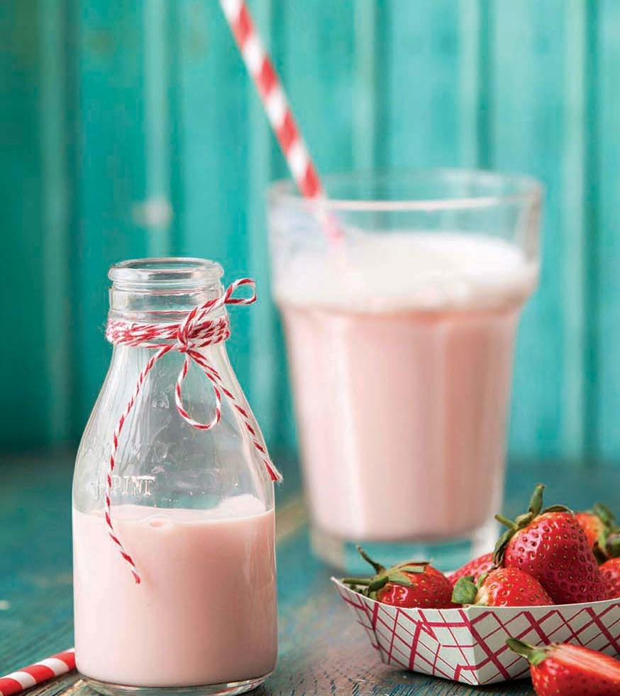 Strawberry Milkshake | Pink | Stacy Grant Food Photography
