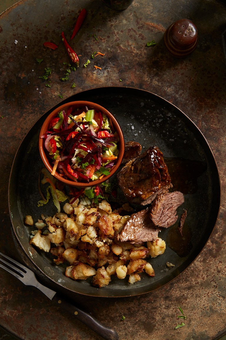 Beef dinner | Stacy Grant Food Photography