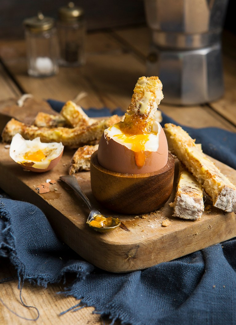 Dippy Egg | Stacy Grant Food Photographer
