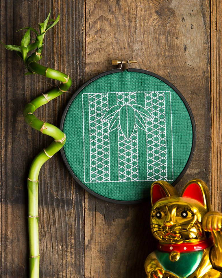 XStitch Mag | Lord Libidan | Stacy Grant Photography | Cross Stitch