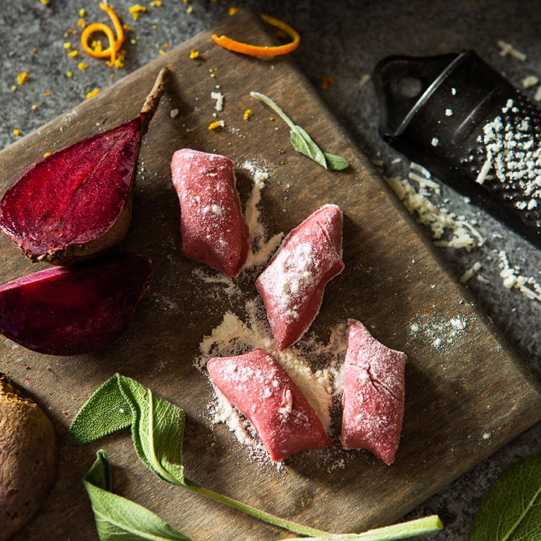 Beetroot Gnocchi | Meat Free Monday | Stacy Grant | Food Photographer