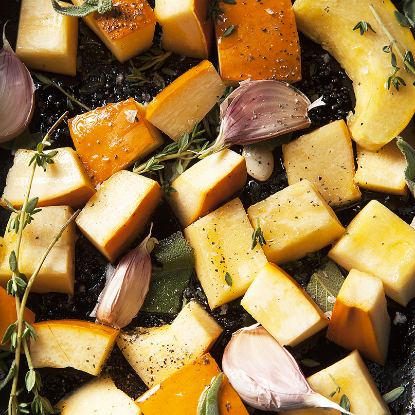 Roasted Butternut Squash Recipes | Stacy Grant Food Photographer
