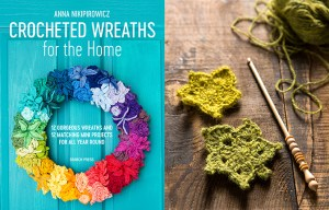 Crocheted Wreaths | Search Press | Stacy Grant Photography