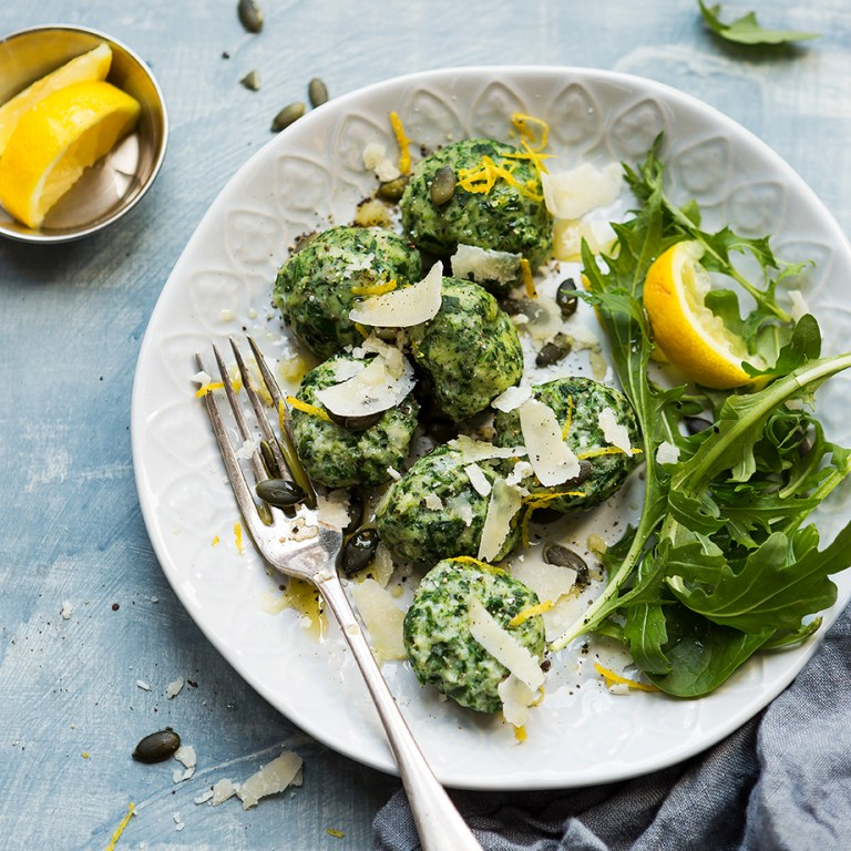 Spinach and ricotta gnocchi_Meat Free Monday_Stacy Grant Photography