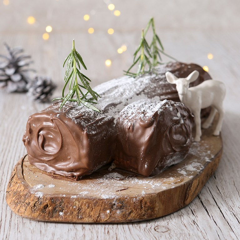 Vegan, chocolate, yule, log, Stacy Grant, Photography