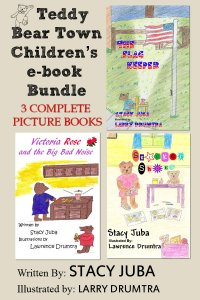 Teddy Bear Town Childrens Ebook Bundle