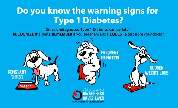 Warning Signs Of Type 1 #diabetes In Kids Stacy Juba