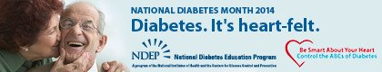 National Diabetes Month 2014