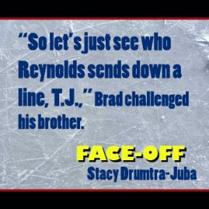 Face-Off young adult hockey novel
