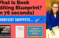 What Is Book Editing Blueprint? (in 76 seconds)