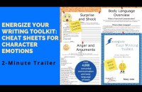 Never Struggle With Character Emotions Again! Get The Energize Your Writing Toolkit