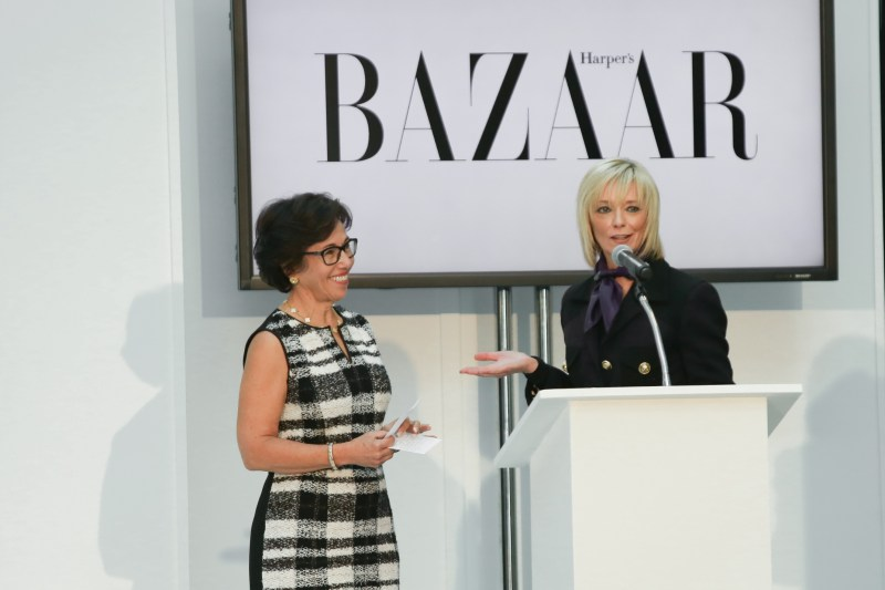 Pediatric Cancer Foundation Fall Fashion Show at The Westchester Simon MallAvril Graham, Harper's BAZAAR Executive Fashion & Beauty Editor, and Bonnie Shyer, President of the Pediatric Cancer Foundation. Avril Graham, Harper's BAZAAR Executive Fashion & Beauty Editor, and Bonnie Shyer, President of the Pediatric Cancer Foundation.