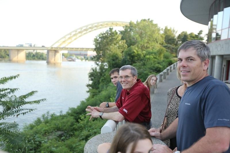 Scott and Andy in Cincinnati