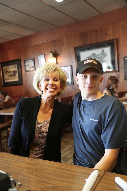 Grandmamma & Hunter at Big Bob Gibson's BBQ