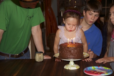 The entire family genuinely loves to see the excitement of the birthday person enjoying their special day!