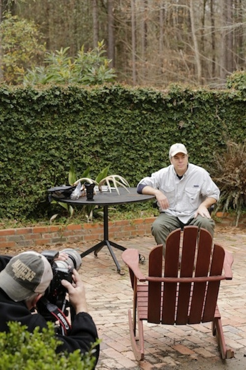 Scott is in the hot seat for his interview sharing his philosophy of hunting and living off the land.