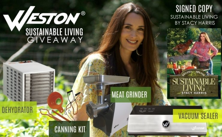 Weston Sustainable Living Giveaway