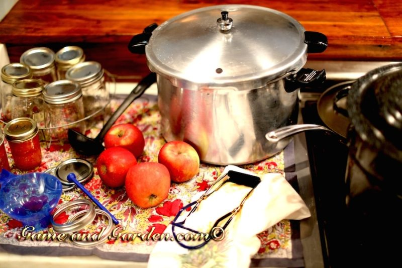 Canning Equipment isn't very expensive. It doesn't take much to enjoy fresh vegetables all year long.