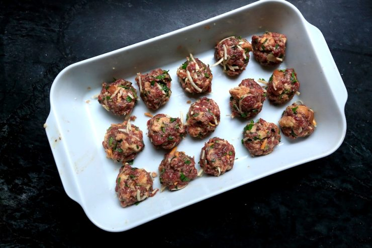Venison has an earthy flavor perfect for these meatballs