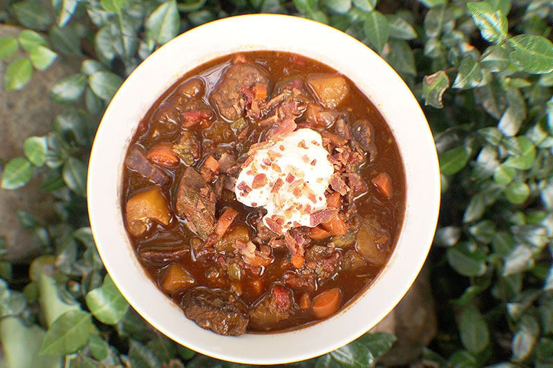 Dutch Oven Venison and Pumpkin Stew Recipe is a quick, easy wild game meal.
