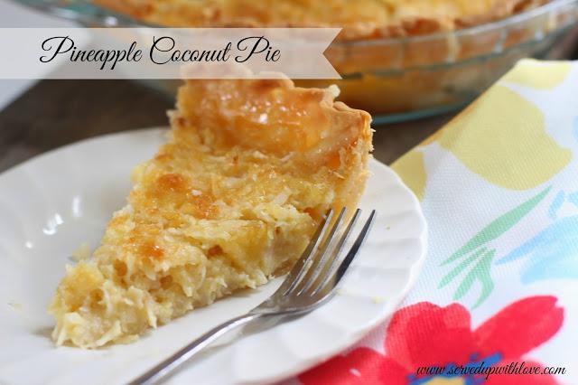 pineapple coconut pie