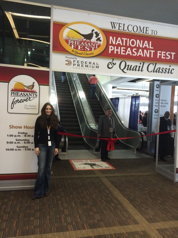 Stacy Lyn Harris - Speaker at National Pheasant Fest 2016 in Kansas City.