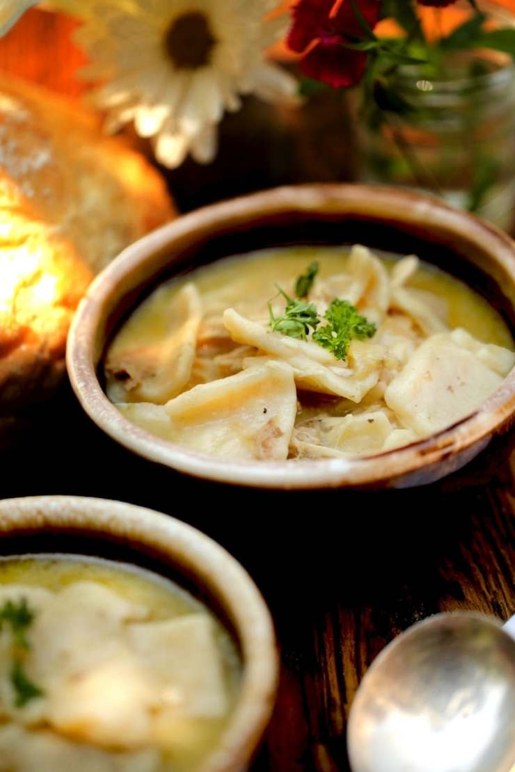 Southern Chicken and Dumplings is the best comfort dish!