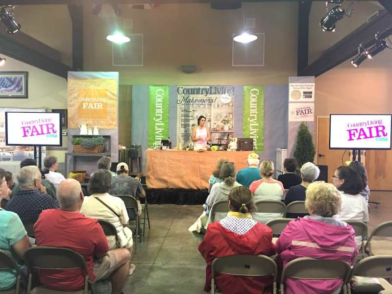 Stacy Lyn Harris/Country Living Fair - Cooking Demo
