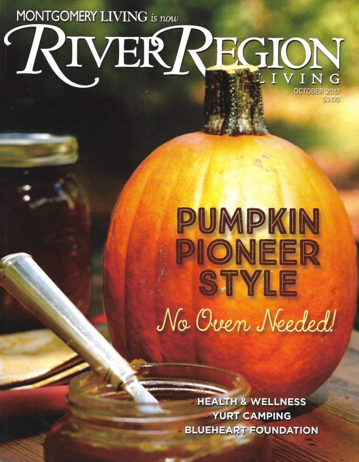 River Region Living cover photographed by Stacy Lyn Harris.