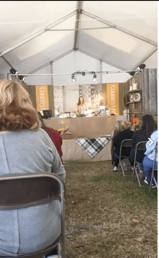 Stacy Lyn Harris' Demo at Country Living Fair