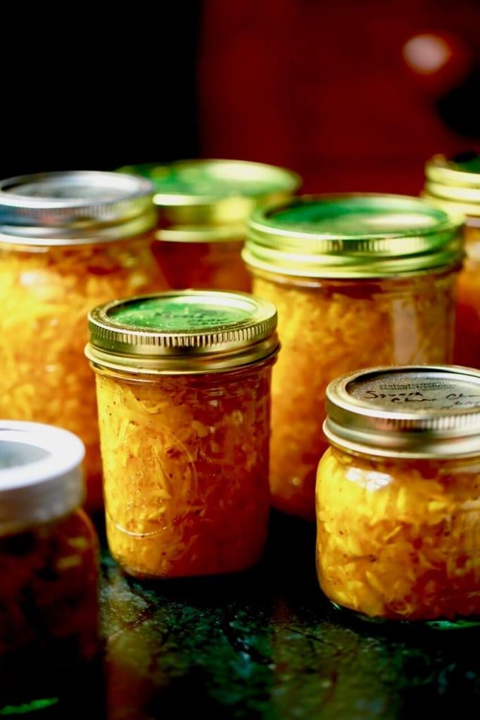 squash relish canning preserving squash