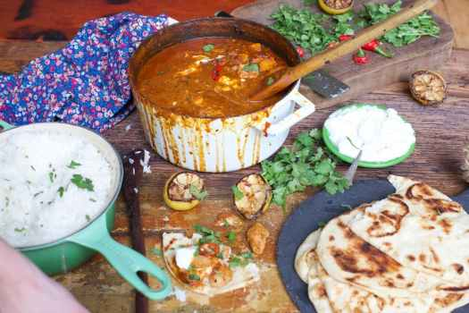 southern twist on classic tikka masala with venison and turkey