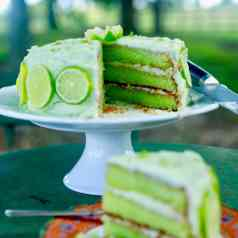 key lime cake - one of my favorite Easter desserts