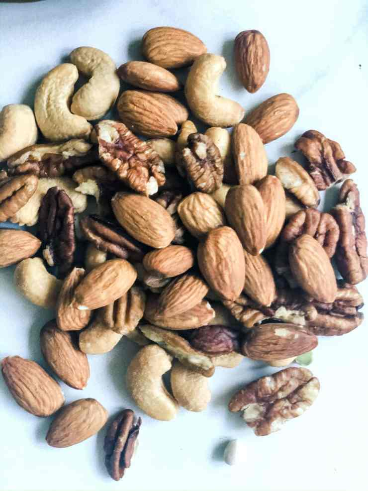 Preparing for covid-19 coronavirus quarantine--how to stock up on essential food items for a quarantine, nuts