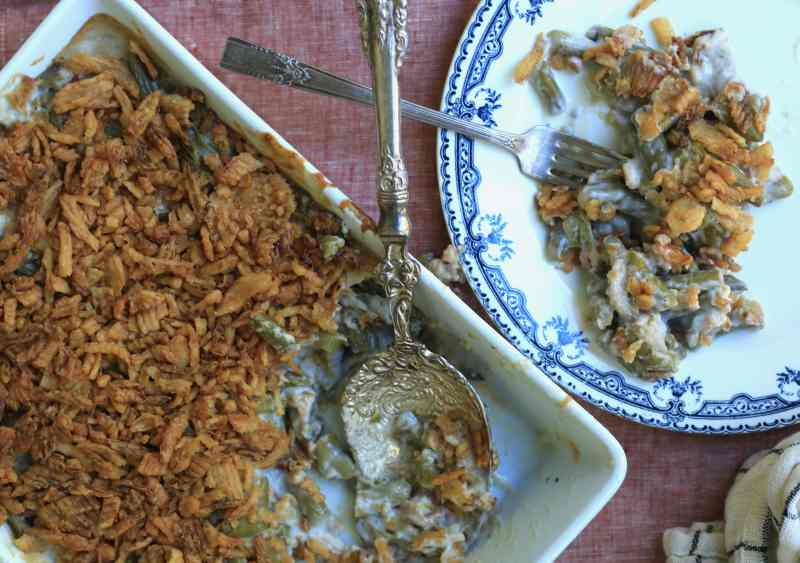 This traditional green bean casserole recipe is as delicious as it looks.