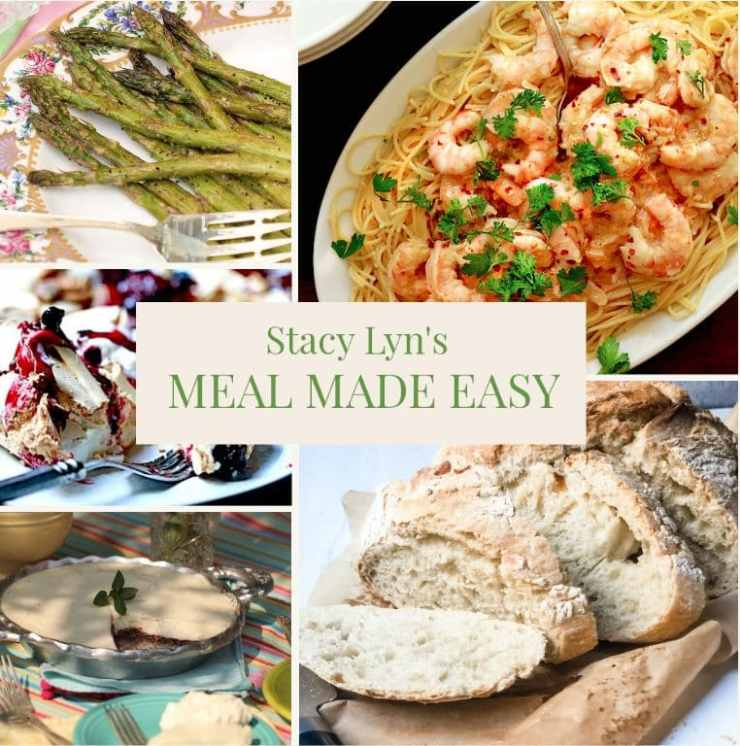 Meal Made Easy with Stacy Lyn - Shrimp Scampi, Artisan Bread