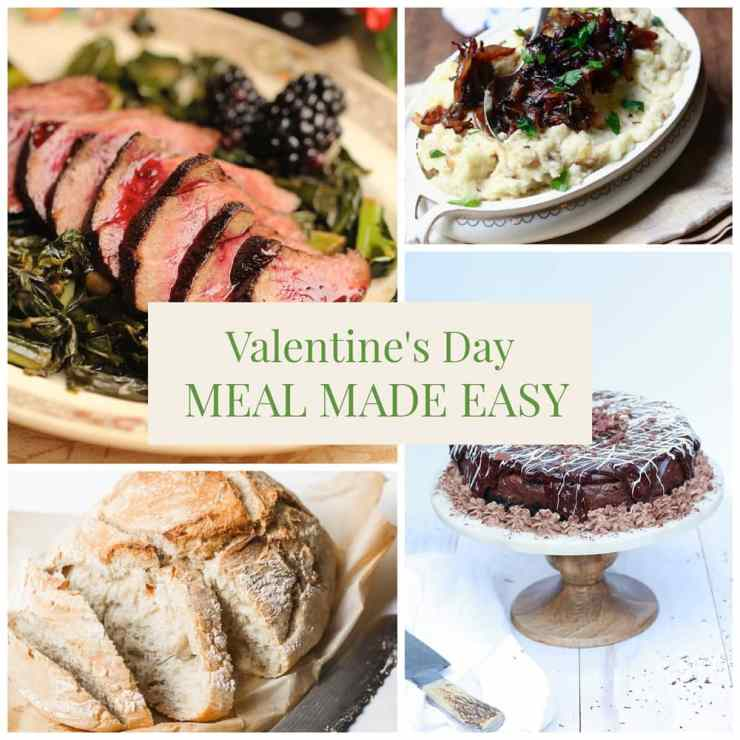 A Valentine's Day dinner to remember.
