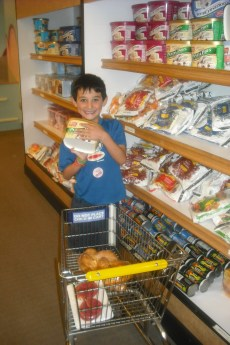 """shopping"" at Wegmans exhibit, Strong National Museum of Play"